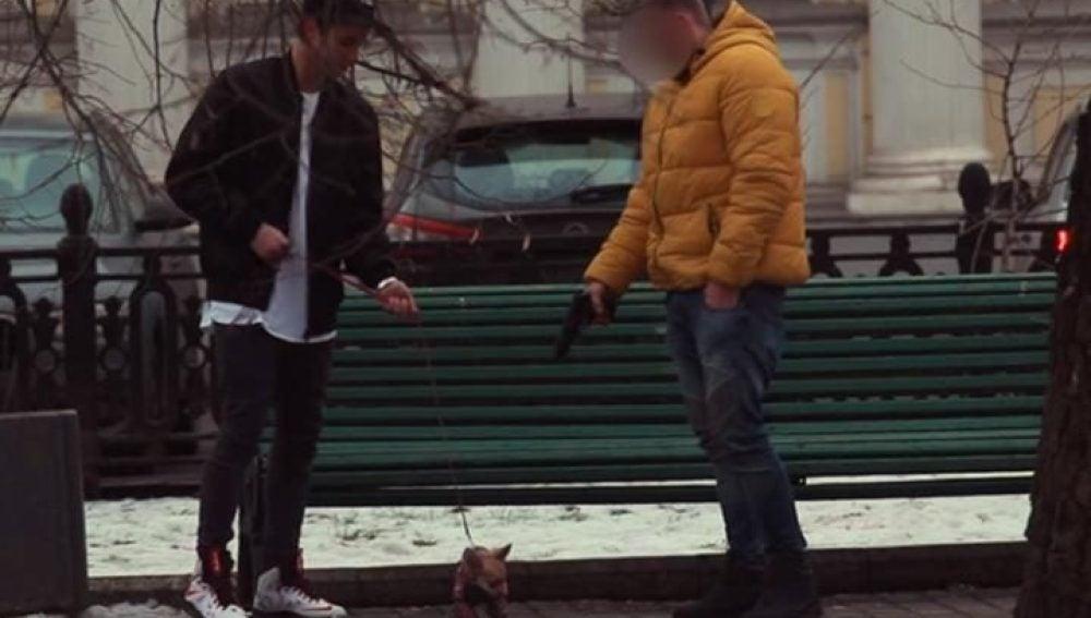 Ofrece dinero por disparar a su perro