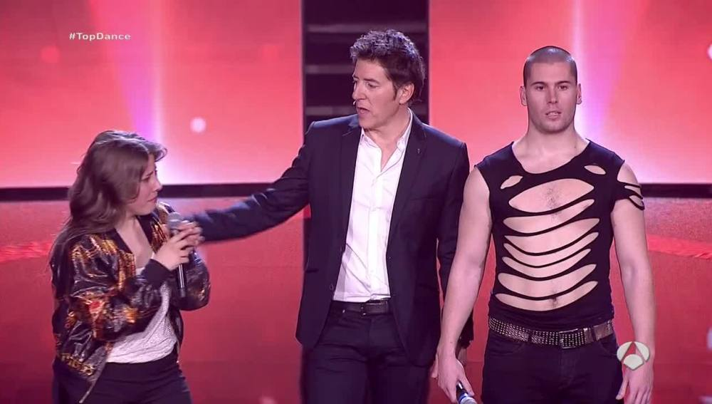 Alejandro López es el primer expulsado de 'Top Dance'