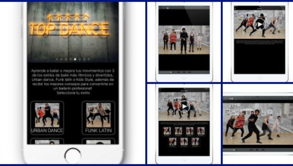 'Top Dance' lanza una 'App' para aprender a bailar