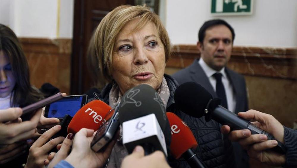 La vicepresidenta primera del Congreso, Celia Villalobos