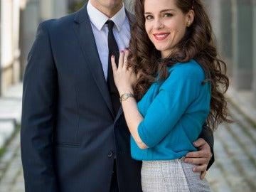 Álex Barahona y Nuria Gago son Nicolás y Clara