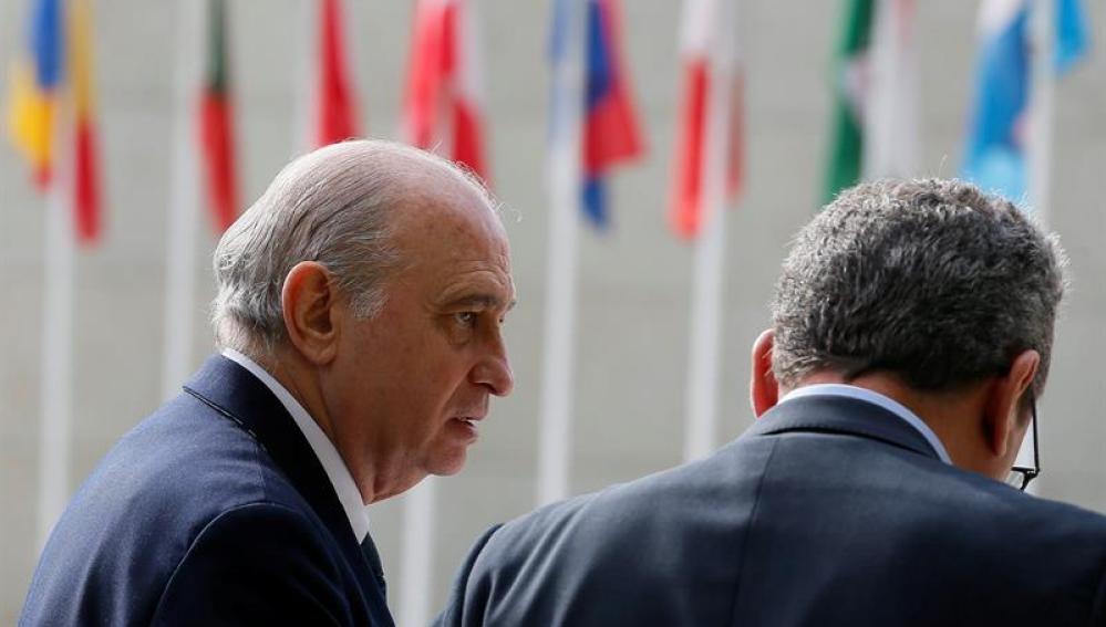 El ministro de Interior en funciones, Fernández Díaz