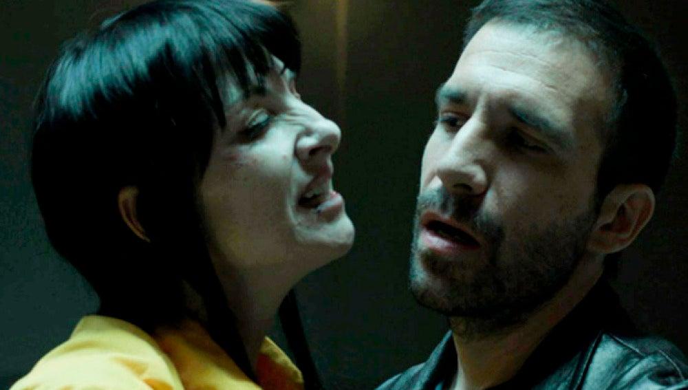 ¿Por qué están Román y Zulema juntos en un vis a vis?