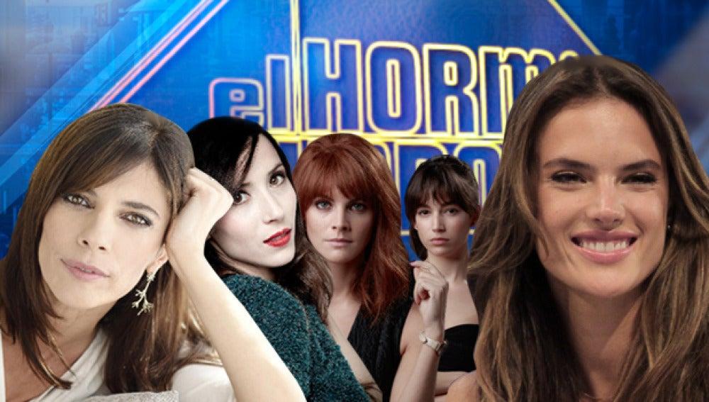 Amaia Salamanca y Úrsula Corberó, Maribel Verdú y Bárbara Goenaga, y Alessandra Ambrosio en 'El Hormiguero 3.0'