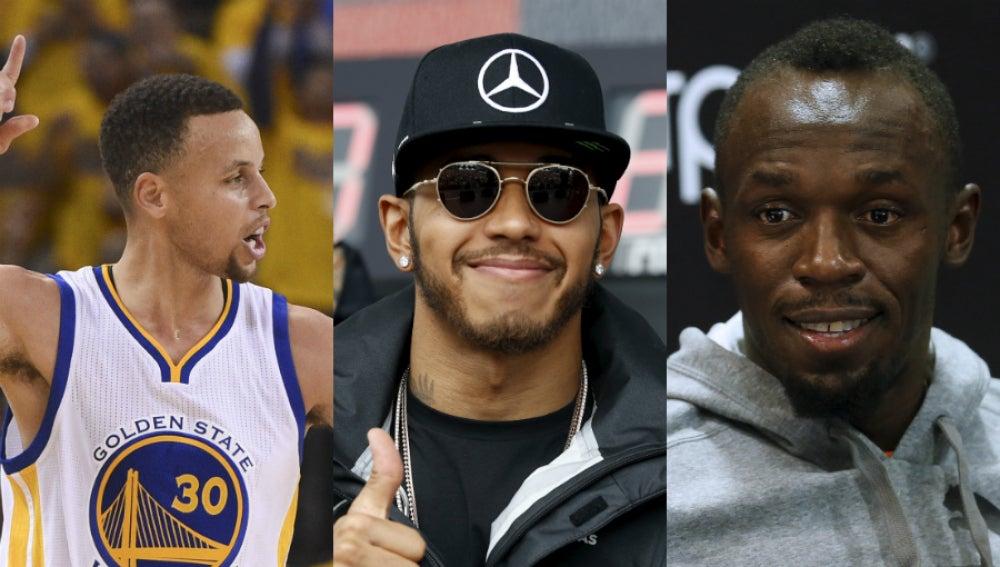 Stephen Curry, Lewis Hamilton y Usain Bolt, en la lista TIME de las personas más influyentes