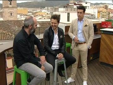 Luis Tosar, Kike Maíllo y Mario Casas