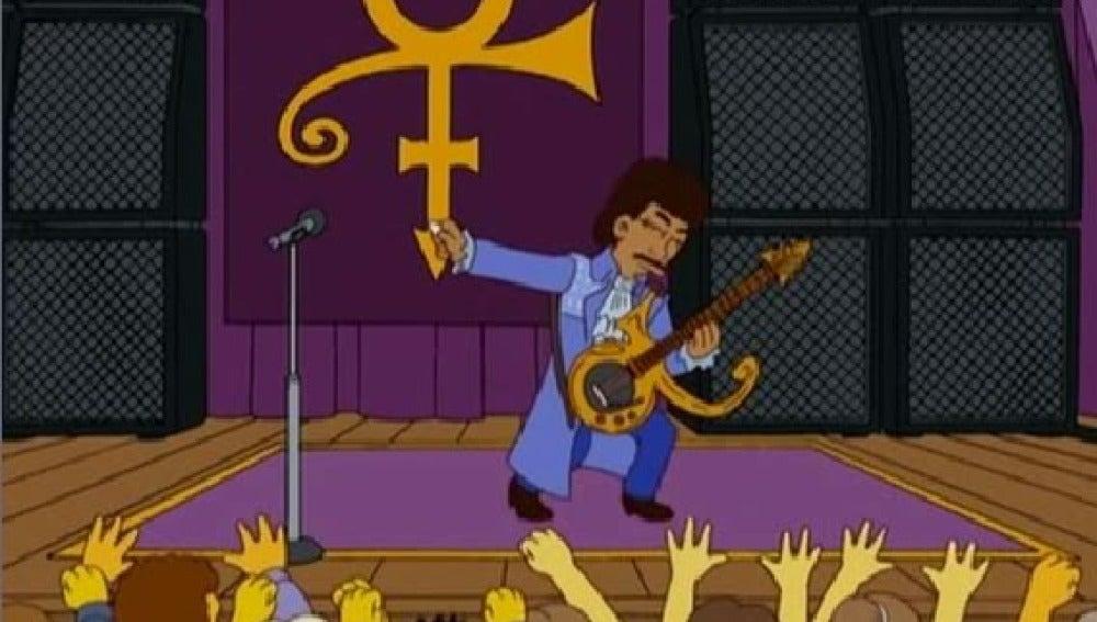 Prince en 'Los Simpson'
