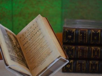 Más de un centenar de ejemplares quijotescos conmemoran a Cervantes en Pekín