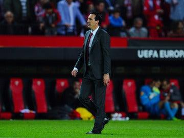 Emery, entrenador del Sevilla
