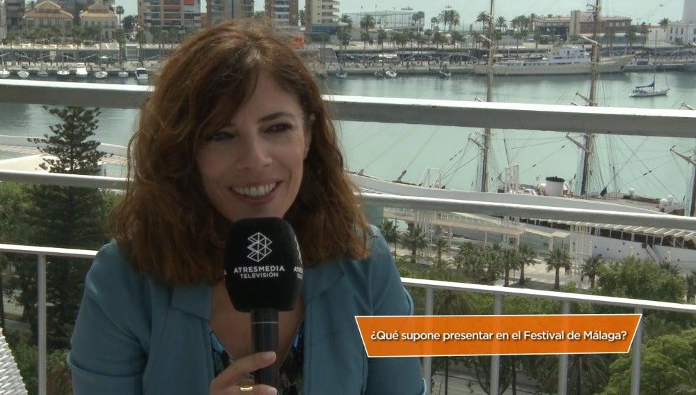 Maribel Verdú en el festival de Málaga