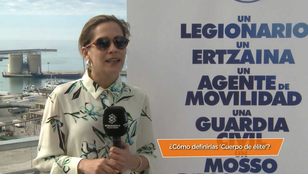 María León en el Festival de Málaga