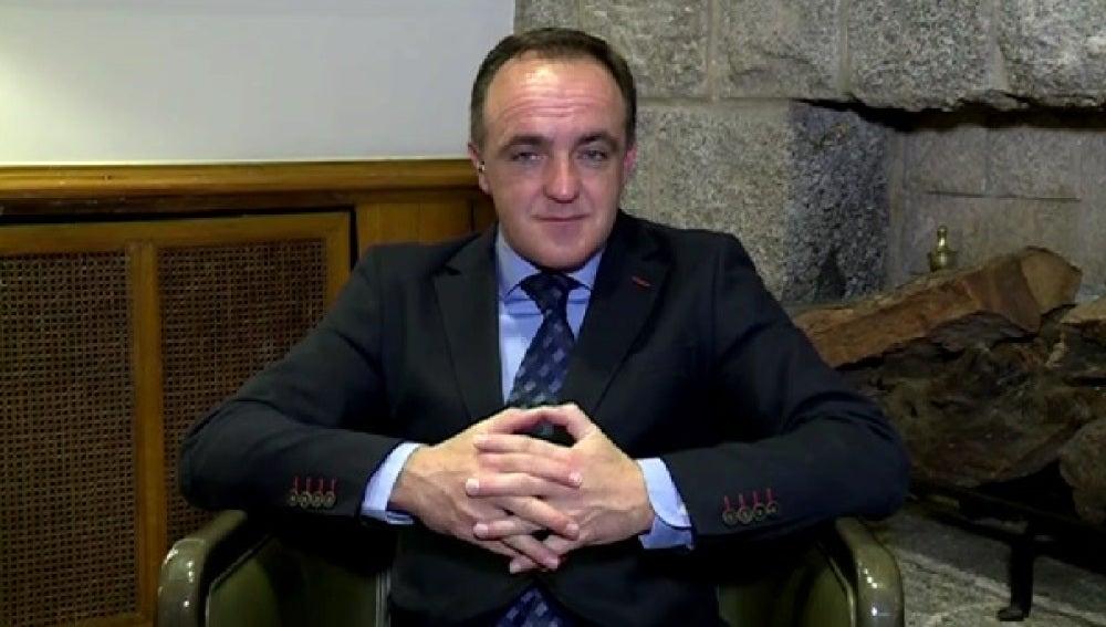 El líder de UPN, Javier Esparza