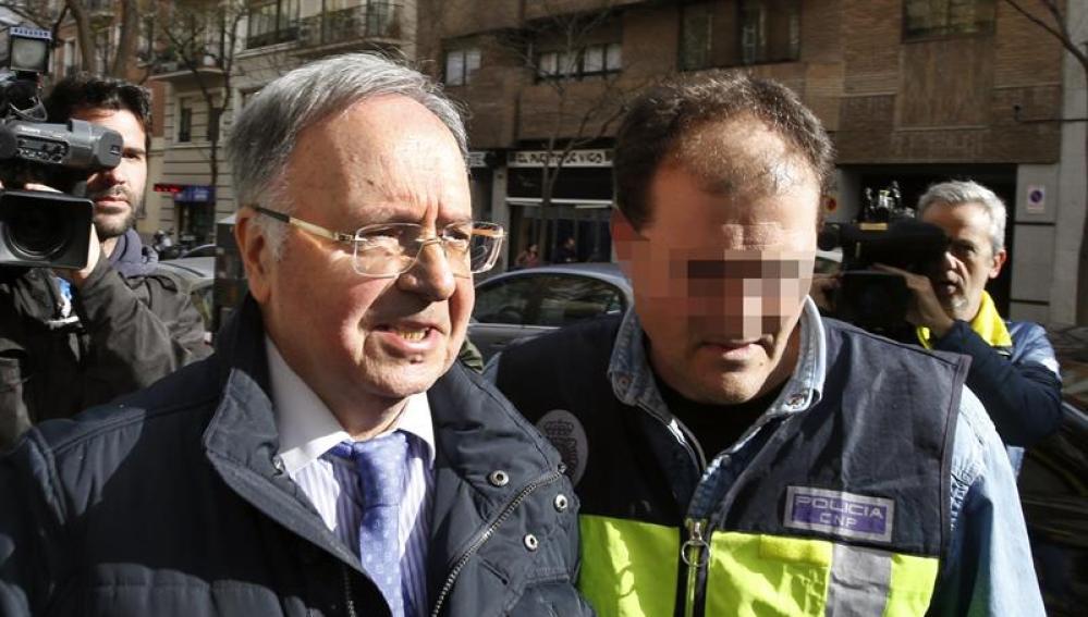 Miguel Bernard, secretario general del sindicato Manos Limpias, tras su detención
