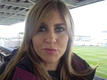 Susana Guasch, en la ciudad deportiva del Manchester City