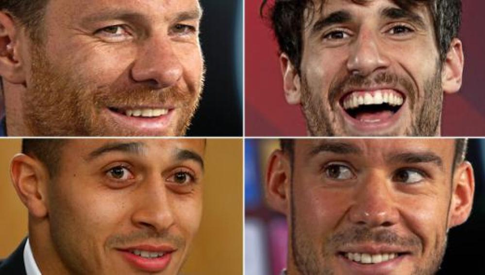 Los cuatro jugadores españoles del Bayern de Múnich