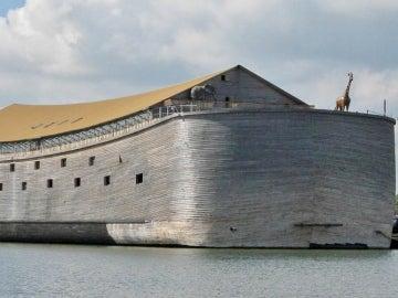 La réplica del arca de Noé de un holandés