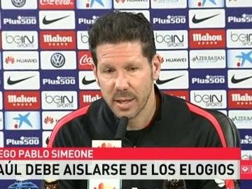 Simeone, en rueda de prensa