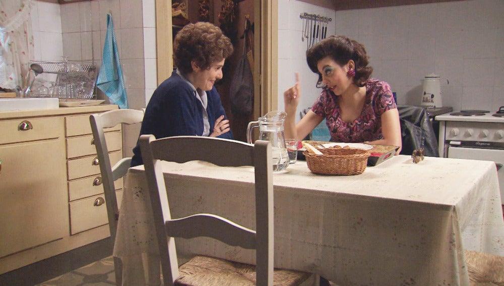 Benigna y Azucena