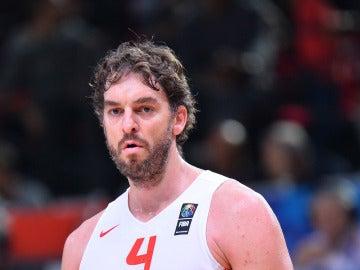 Pau Gasol con España en la EuroBasket 2015