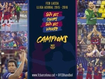 Barcelona de Balonmano, campeón 2015-16
