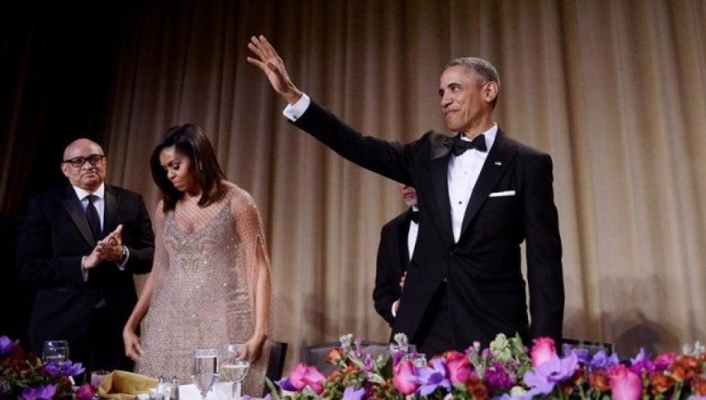 Obama en la cena de corresponsales en la Casa Blanca