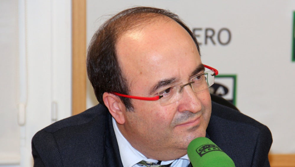 Miquel Iceta, en Onda Cero