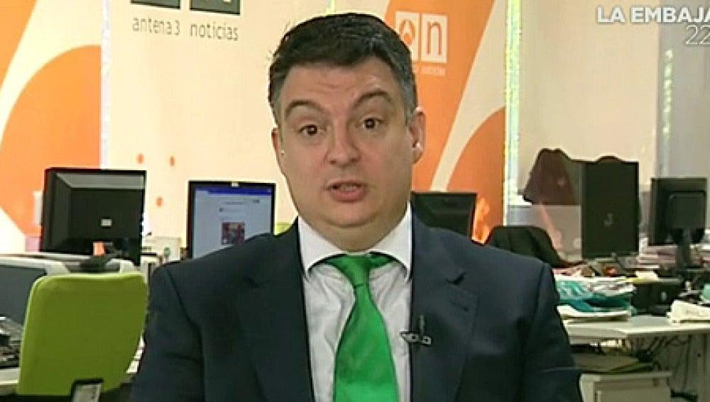 Javier López, en Espejo Público
