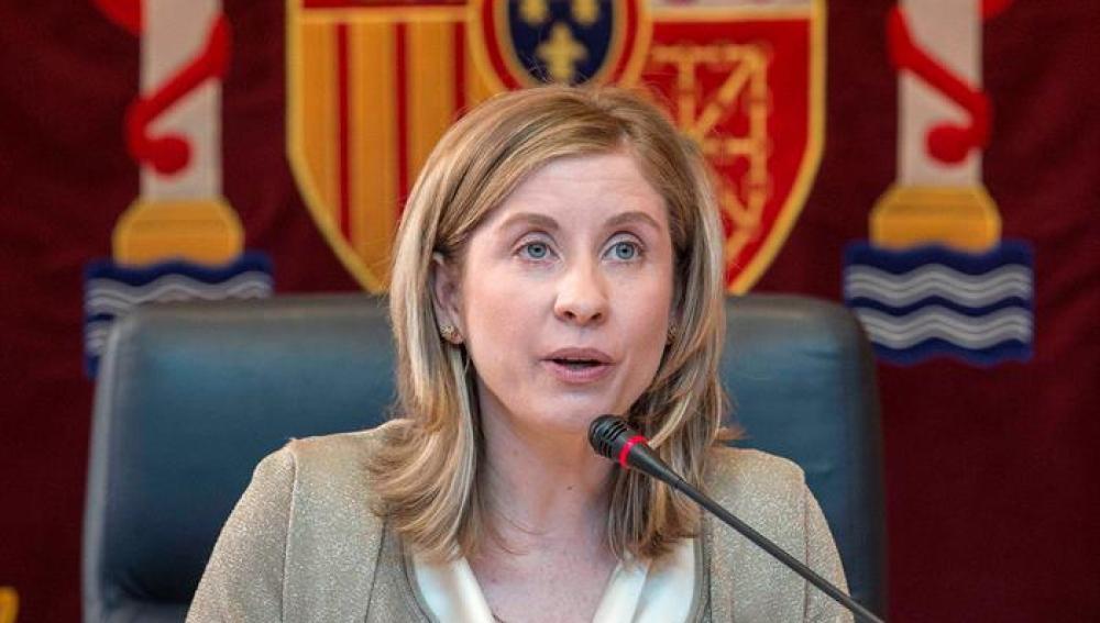 La nueva alcaldesa de Molina de Segura, Esther Clavero (PSOE)