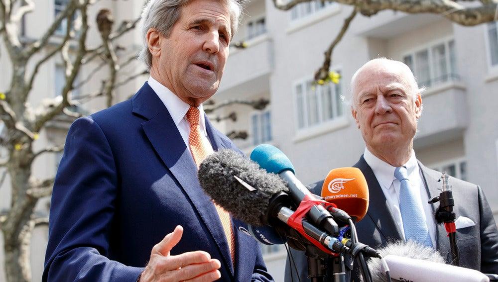 John Kerry en Ginebra