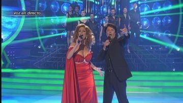 Toñi Salazar y Francisco imitan a Rocío Jurado y Raphael