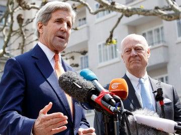 Kerry en Ginebra