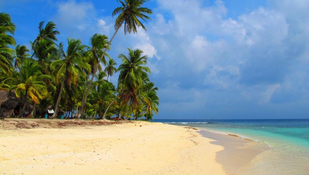 Isla de San Blas en Panamá
