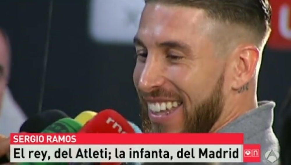 Sergio Ramos, defensa del Real Madrid