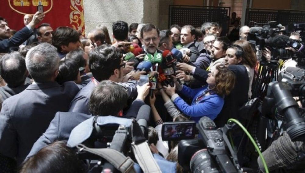 Rajoy ante los periodistas