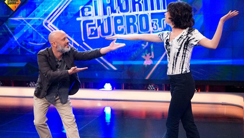 Javier Gutiérrez y Anna Castillo en 'El Hormiguero 3.0'
