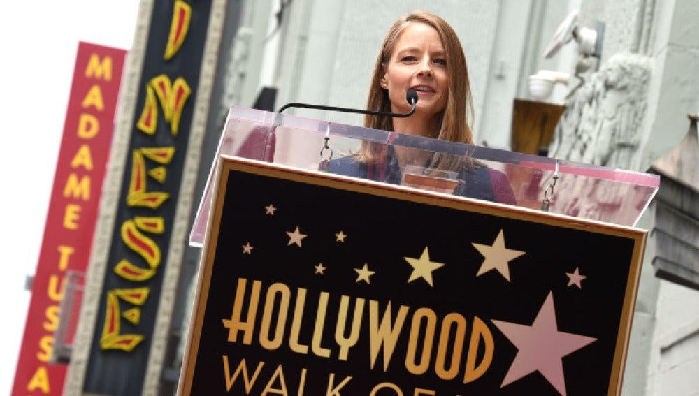 El discurso de Jodie Foster en su ceremonia