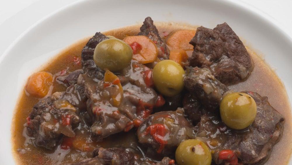 Estofado de carne de cabra