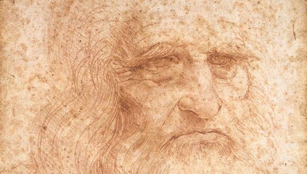 Autorretrato de Da Vinci