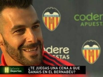 Negredo, delantero del Valencia