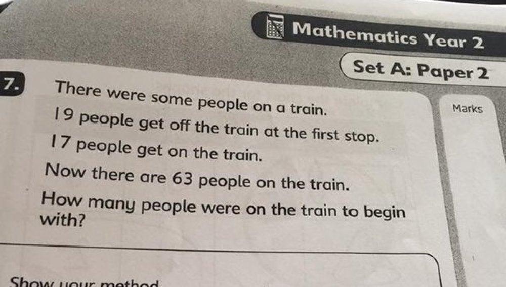 El problema de matemáticas viral en Twitter