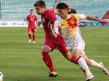 Serbia - España en el Europeo sub-17
