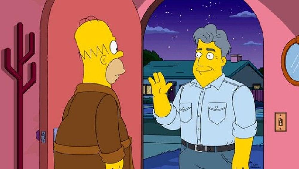 Jay Leno en 'Los Simpson'