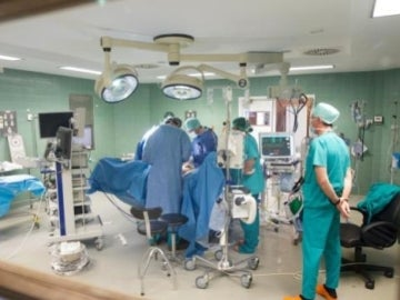 Intervención en un quirófano