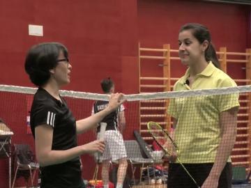 Thais Villas entrevista a la jugadora de bádminton Carolina Marín