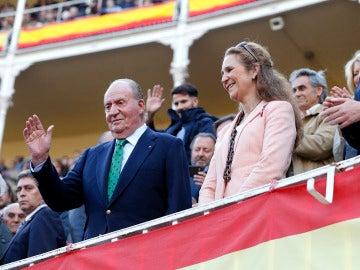 Rey Juan Carlos en la plaza de las Ventas