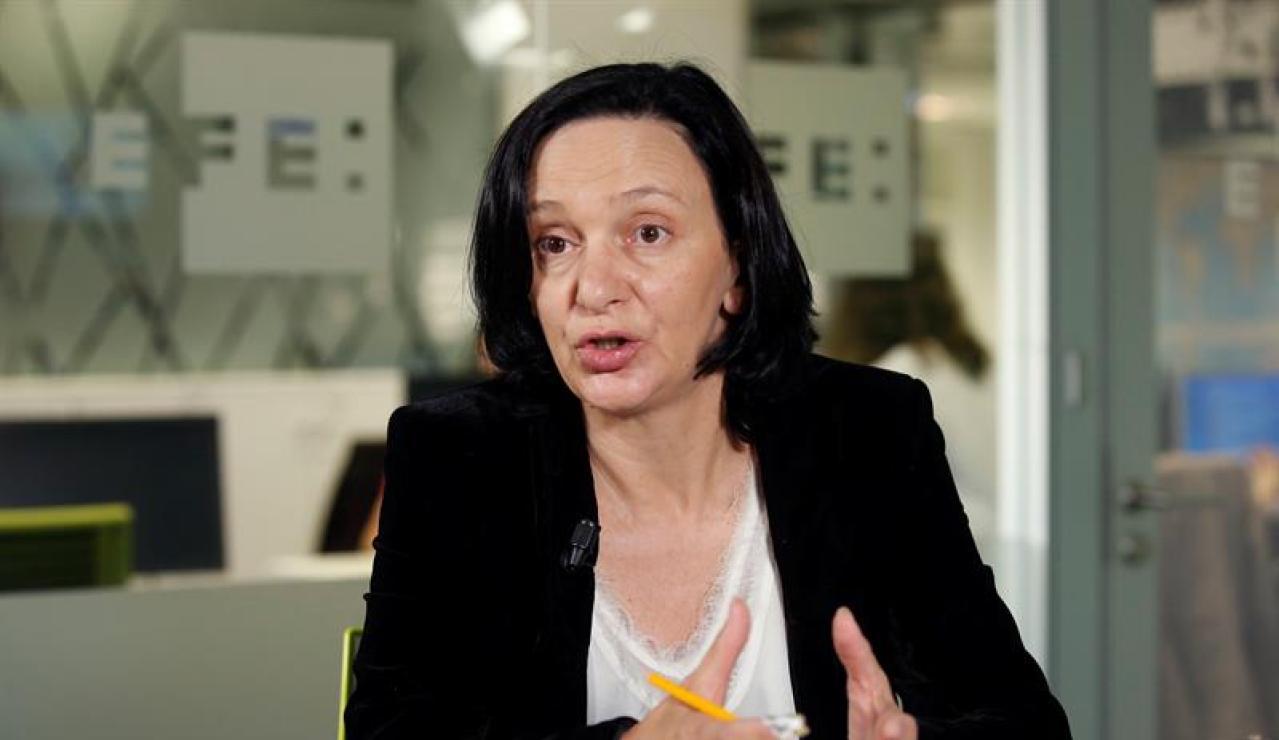 La número dos de Podemos, Carolina Bescansa