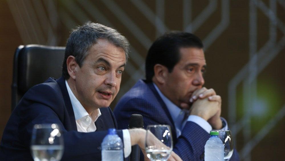 Zapatero en Caracas