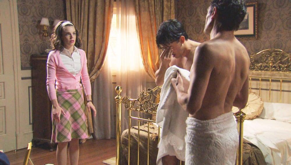 María, Ángel y El Rondeño