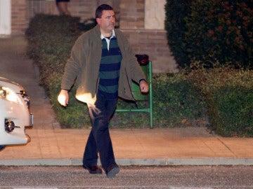 Marjaliza a su salida de la cárcel de Aranjuez