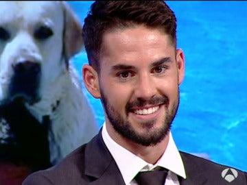 """Isco: """"Tengo un perro que se llama Messi"""""""